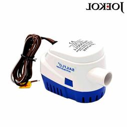 Submersible Boat Water Pump Automatic Bilge Electric Pump Fo