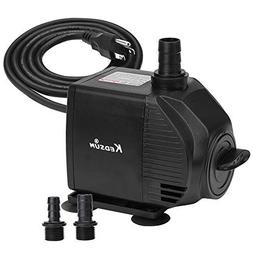 KEDSUM 580GPH Submersible Pump, 35W Ultra Quiet Water Pump w