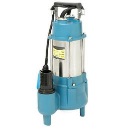 Submersible Pump Sewage Pump 1.5HP Sub Water Plumping 7100GP