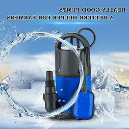 Submersible Sump Pump 1HP Automatic Dirty Clean Water Pump F