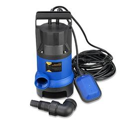 Submersible Water Pump | 1/2 HP 2000GPH Clean Clear Dirty Po