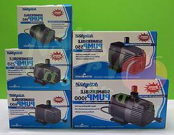 SUBMERSIBLE WATER PUMP: 160 250 400 550 1000 GPH Hydroponics