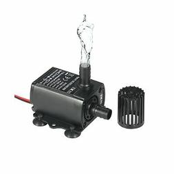 Decdeal Submersible Water Pump DC 12V 5W Ultra-quiet Pump fo