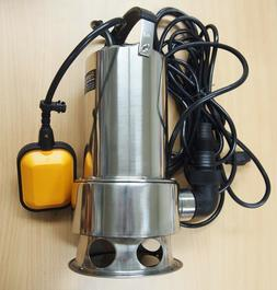 submersible water pump stainless steel 1hp 13000