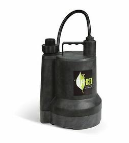 ECO-FLO Products SUP55 Manual Submersible Utility Pump, 1/4