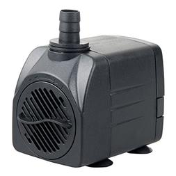 Uniclife UL400 Submersible Water Pump, 400 GPH Aquarium/Hydr