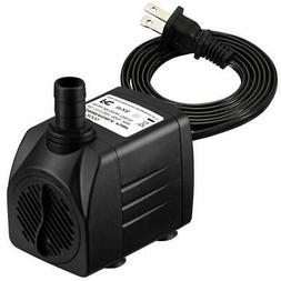 Homasy Upgraded 400GPH Submersible Water Pump with 36 Hours