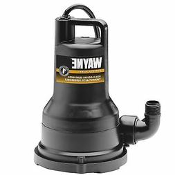 WAYNE VIP15 1/5 HP Thermoplastic Portable Electric Water Rem