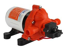 Water Diaphragm Self Priming Pump 2.8 Gallonsmin  45 PSINew