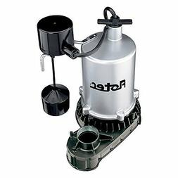PENTAIR WATER FPZT7550 1 hp Zinc Sump Pump