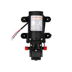 Camplux 12V Water Pump 35PSI DC 1.2GPM 4.3LPM Diaphragm for
