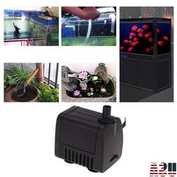 Water Pump Submersible Electric Quiet Small For Aquarium Fou