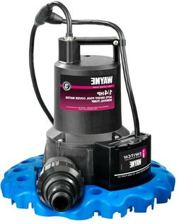Wayne Water Removal Pump Submersible 1/4 HP Automatic On/Off