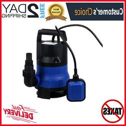 Water Sump Pump Submersible Clean Dirty Water For Swimming P