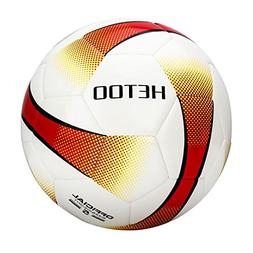 hetoo Waterproof Soccer Ball, Most Reasonable Construction T