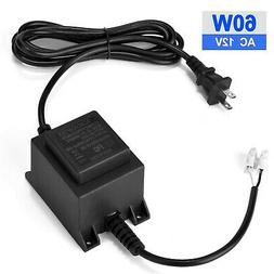Voltage Converter Transformer 110/120V to AC 12V/5A, AGPtEK