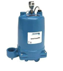 GOULDS WATER TECHNOLOGY WE0311M Submersible Effluent Pump,1/