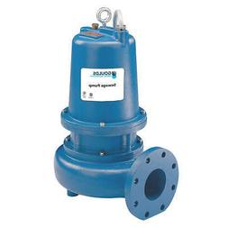 GOULDS WATER TECHNOLOGY WS3034D4 3 HP,Sewage Ejector Pump,46